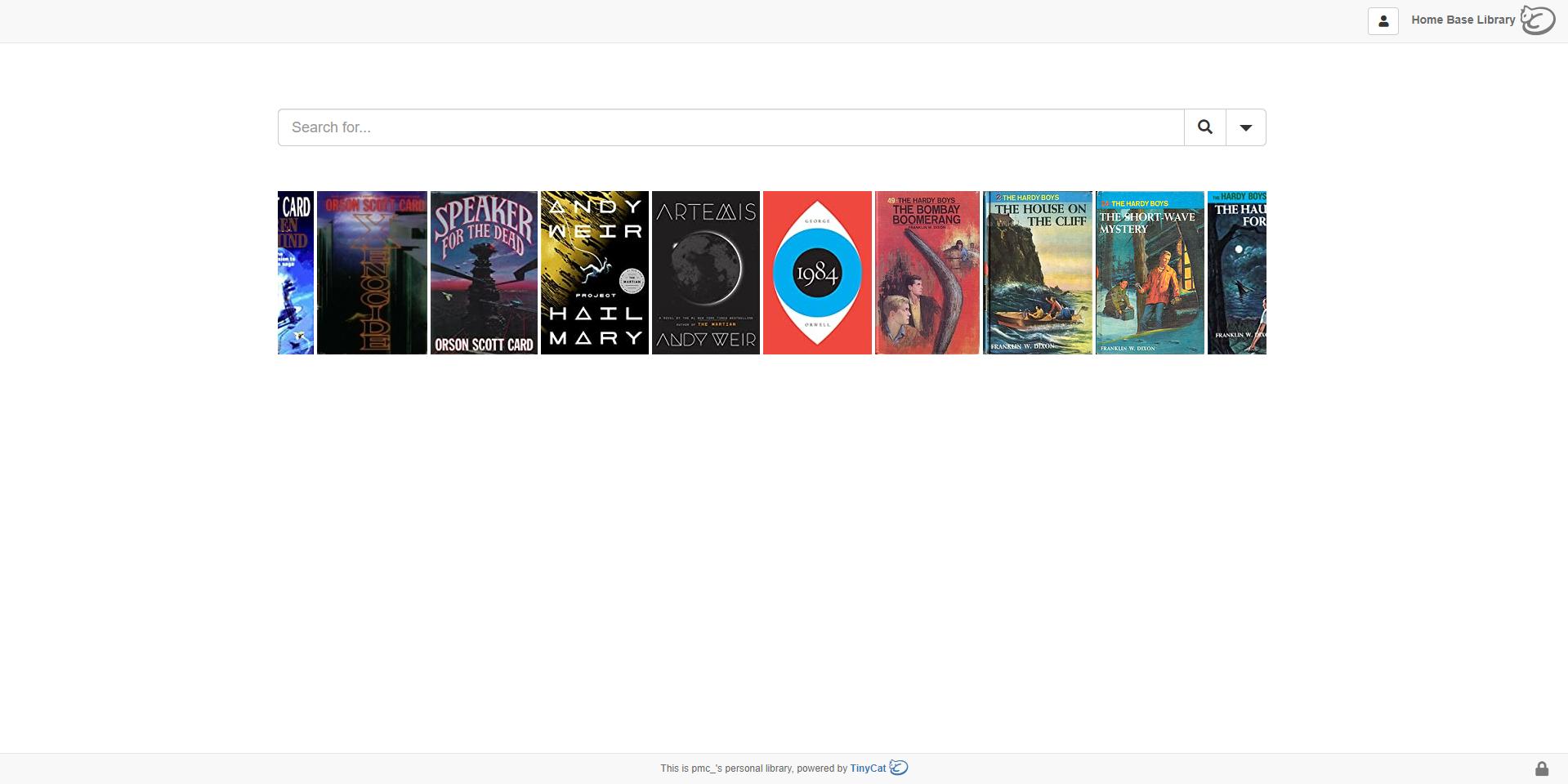 A screenshot of librarycat.org/lib/pmc_